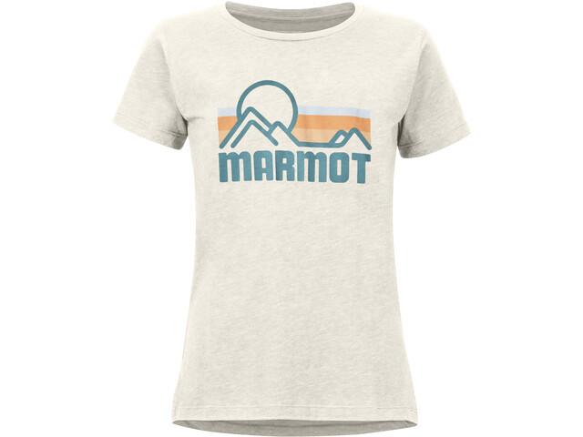 Marmot Coastal T-shirt Dames, wit